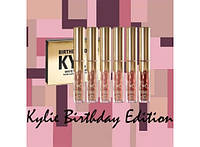 Kylie Birthday Edition Кайли Дженер 6 в 1 матовая помада 433-20617561