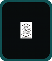 Пластырь радиальный KR-25 (125х145 мм) Simval, фото 1