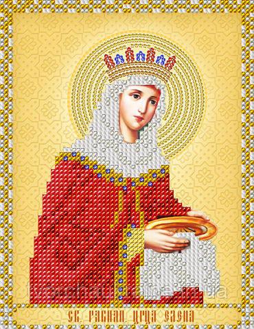 Схема на ткани для вышивания бисером Св. Равноап. Царица Елена. А-строчка.