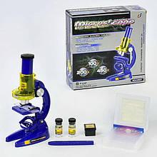 Микроскоп С 2107 (48/2) с аксессуарами, в коробке