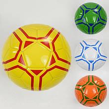 Мяч футбольный F 22059 (60) 4 цвета, 260-280 грамм, размер №5