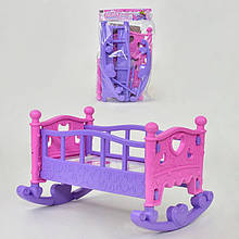Кроватка для кукол 889-194 (48) в кульке