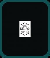 Пластырь радиальный KR-251 (125х145 мм) Simval