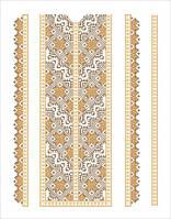 Схема орнаменту для вишивки бісером. Арт. ВШН-29