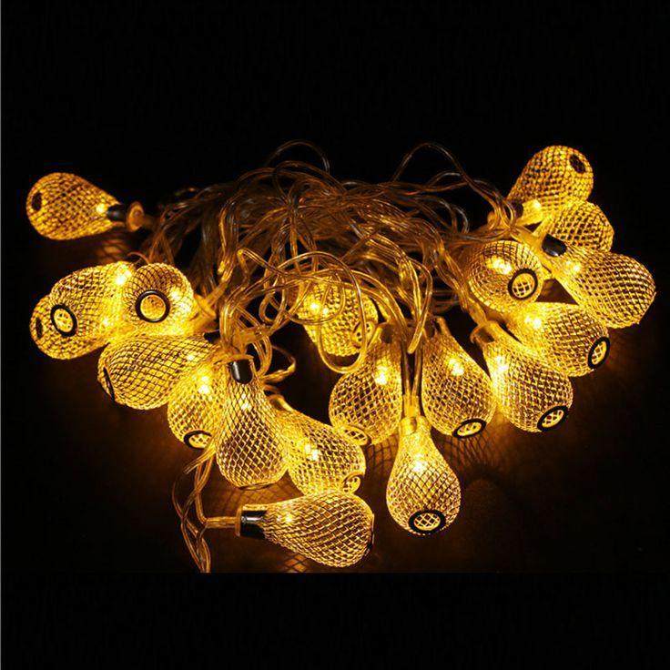 Гирлянда светодиодная груша 20 LED