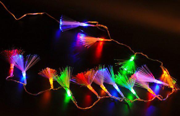 Світлодіодна гірлянда пензлика 100 LED, мультикольорова