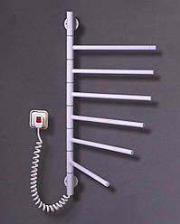 Полотенцесушитель электрический Элна Вертикаль-6 690Х420Х45 белый