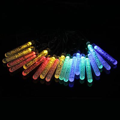 Гирлянда светодиодная сосульки 28 LED, мультицветная