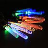 Гирлянда светодиодная сосульки 28 LED, мультицветная, фото 2
