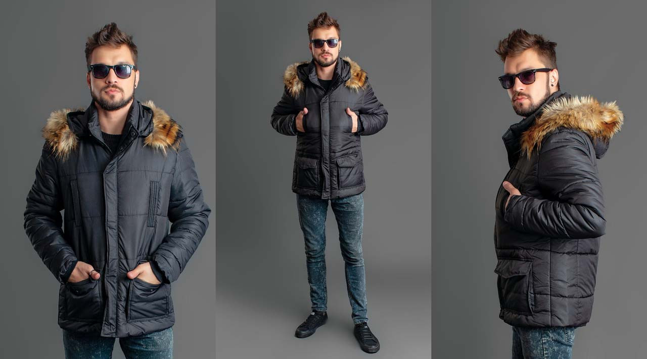 db061fb10eee Мужская зимняя куртка на синтепоне 1148