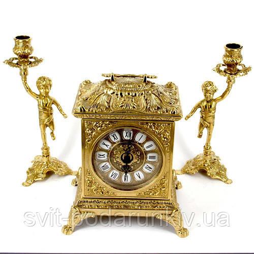 Каминные часы и 2 подсвечника 82.108-80.325 Италия