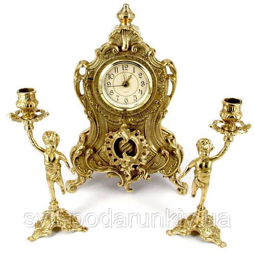 Каминные часы и подсвечники 02-80.325 Италия