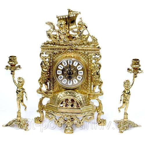 Каминные часы и подсвечники 82.101-80.325 Италия