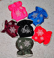Муфты перчатки для санок, коляски, велосипеда на овчинке муфта