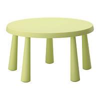 MAMMUT Стол детский для дома/улицы светло-зеленый, фото 1