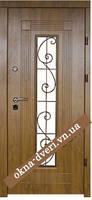 Элитные двери с стеклопакетом