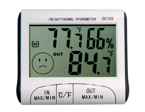 Термометр, гигрометр, влагометр