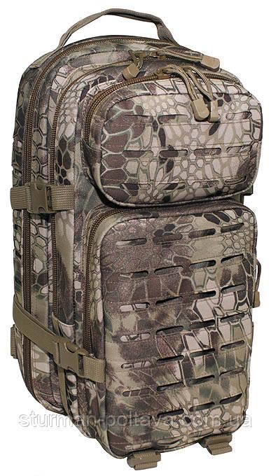 """Рюкзак тактичний """"Laser"""" ( L ), великий 36 літрів, snake FG"""