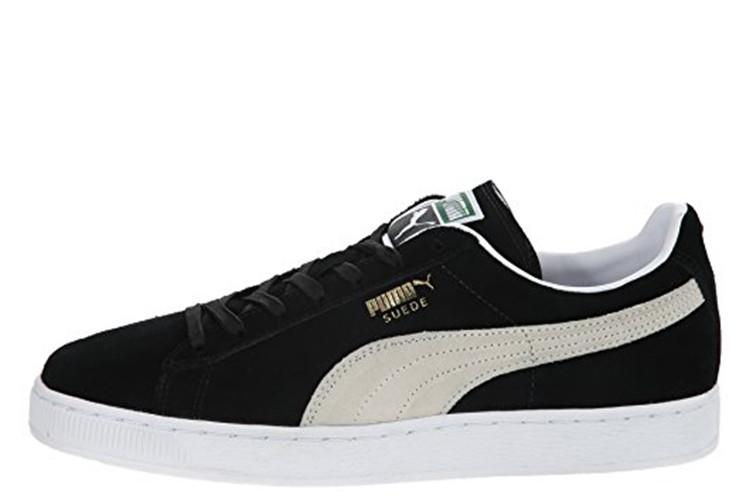 Кроссовки мужские Puma Suede Classic Mono Iced Black White 4351b04406996