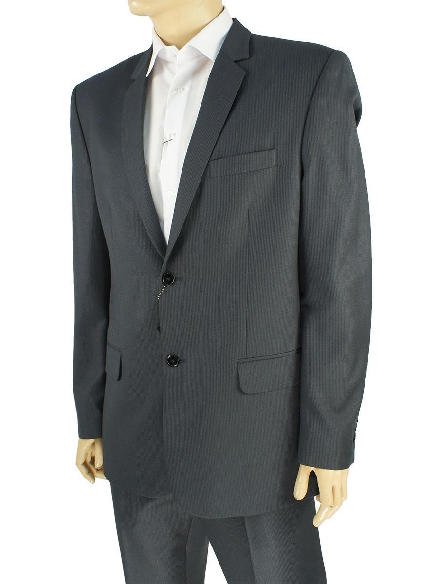 Темно-серый мужской костюм Legenda Class 3739#3