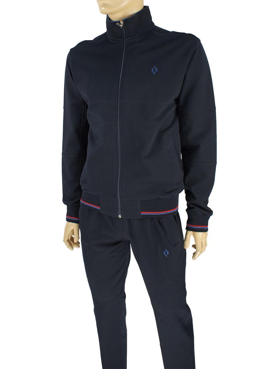 da7f3de7 Трикотажный мужской спортивный костюм Fabiani 13KE3ET3732 Н D.Blue - Магазин  мужской одежды