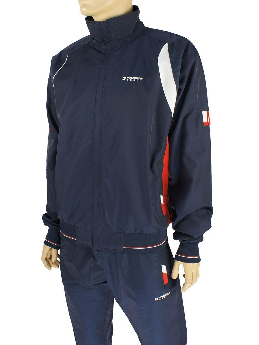 Мужской спортивный костюм Fabiani 7КЕ8E590257 D.Blue-D.Blue