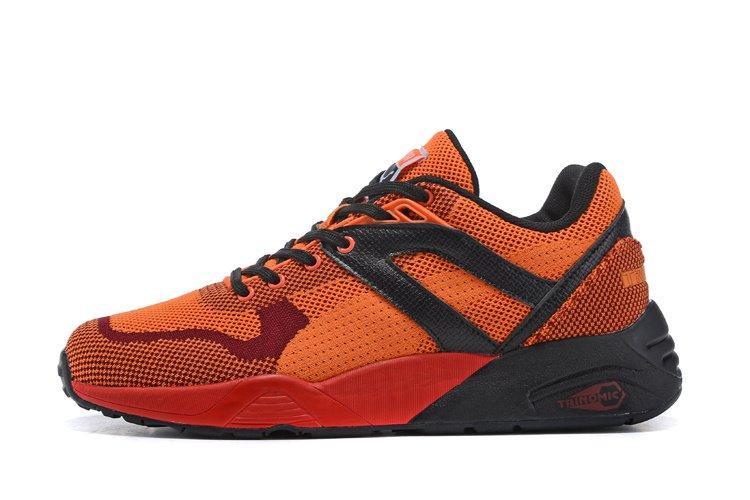 Оригинальные кроссовки мужские Puma R698 Knit Mesh Splatter
