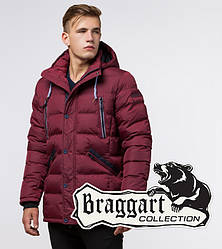 Braggart 'Aggressive' 11726 | Куртка зимняя бордовая