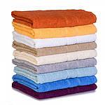 Махровое полотенце Luxury, Белый (Баня 65*125см), фото 8