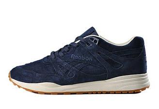 Оригинальные кроссовки мужские Reebok Ventilator Affiliates Navy Blue | Рибок вентилятор синие