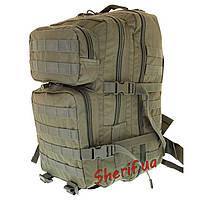 Рюкзак тактический штурмовой 36 литров военный Assault (Olive, 36 литров.), MIL-TEC 14002201