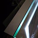 Зеркало с подсветкой для ванной Alfa 80*60см, фото 2