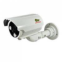 """Уличная видеокамера Partizan COD-VF5HR. 1.3 Мп, 1/3"""" SONY Exmor, 0,005 Lux, f=5-50мм,  ИК-80 м"""