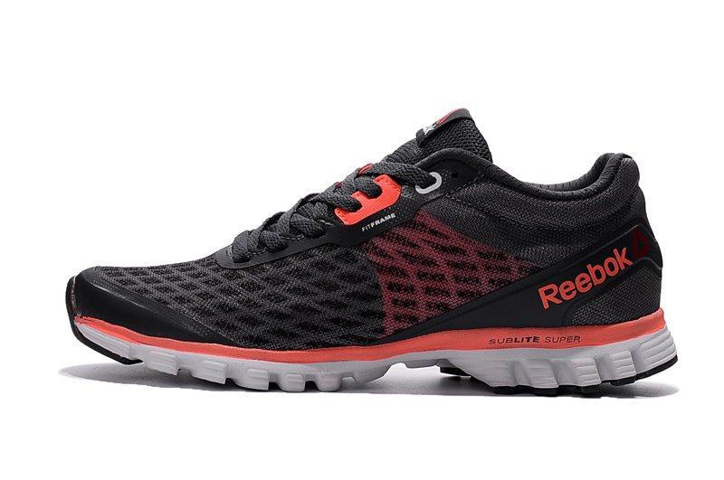 Кроссовки мужские Reebok Sublite Super Duo Black Red| Рибок субите супер дуо черные