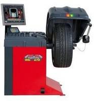 Балансировочный станок автоматический с монитором и лазером WB670 (МВ, Италия), фото 1
