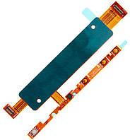 Шлейф с кнопками включения и громкости для Sony E2303 Xperia M4 (E2306, E2312, E2333) (black) Original