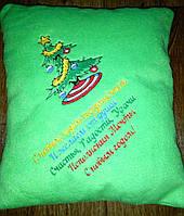 Подушка новогодняя декоративная, фото 1