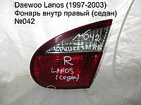 Фонарь внутр прав (седан) Daewoo Lanos (97-03)