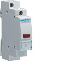 Индикатор LED 230В, красный, 1м Hager SVN122