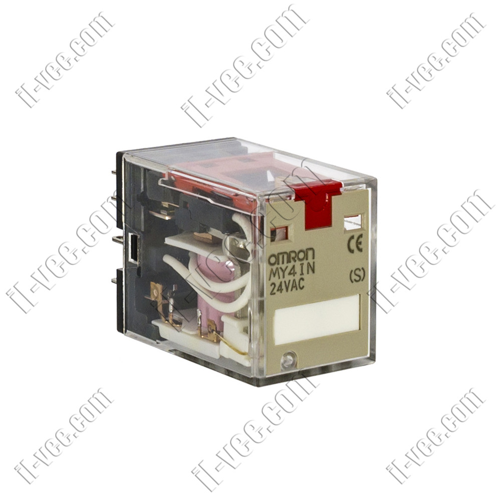 Реле OMRON MY4IN 24VAC, 5A/220VAC, 5A/24VDC