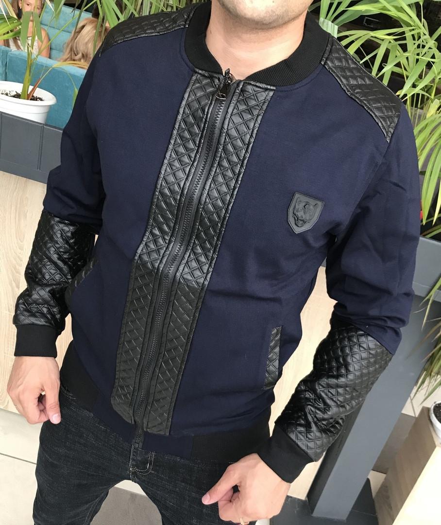Качественная мужская куртка Gucci Коллекция Осень 2018 Дорогой и приятный материал Размеры 46, 52, 54