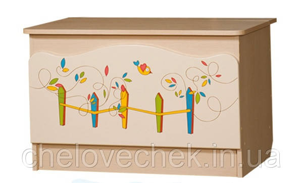 """Ящик для игрушек """"Цветы жизни"""" Вальтер"""
