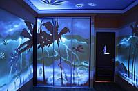 Яркая флуоресцентная краска для печати на стекле от Нокстон