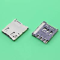 Слот (коннектор) сим карты для Sony E5633 Xperia M5 Dual Sim (E5643, E5663) Original