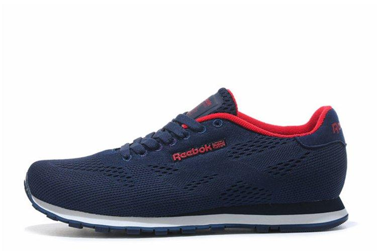 Кроссовки мужские Reebok CL Engineered Mesh Navy Red|Рибок синие оригинал