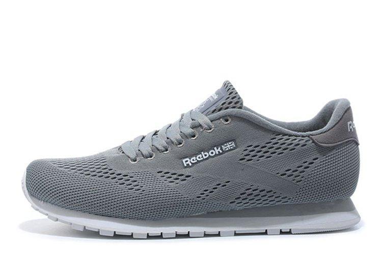 Оригинальные кроссовки мужские Reebok CL Engineered Mesh Grey | Рибок серые