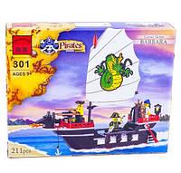 Конструктор Brick 301 Корабль Barbara 211 деталей YNA