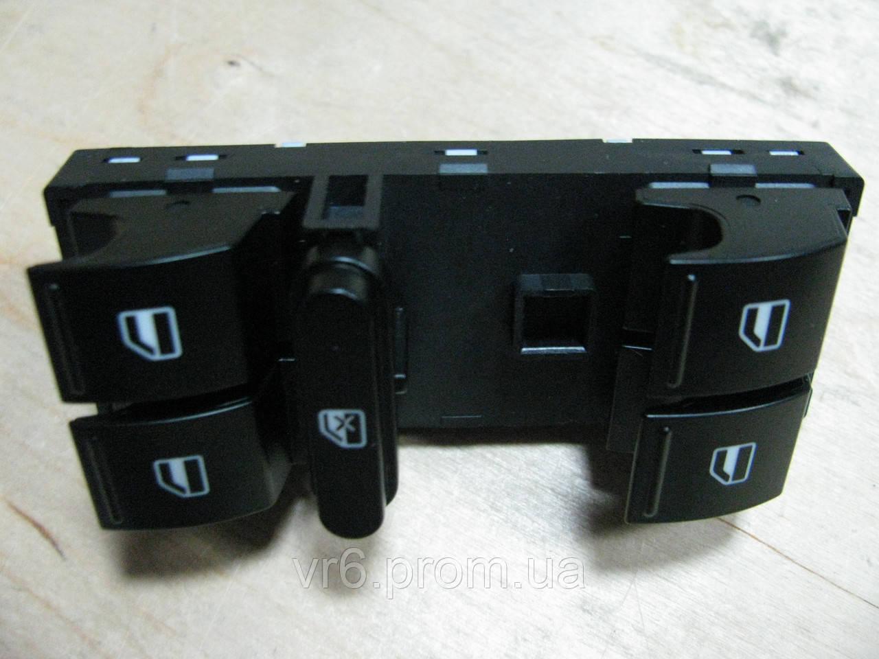блок управления кнопками стеклоподъемников skoda