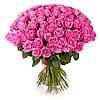 Огромный букет роз для женщины «101 розовая роза»