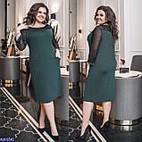 Нарядное облегающее платье с блесточками размер 48-58 , фото 2